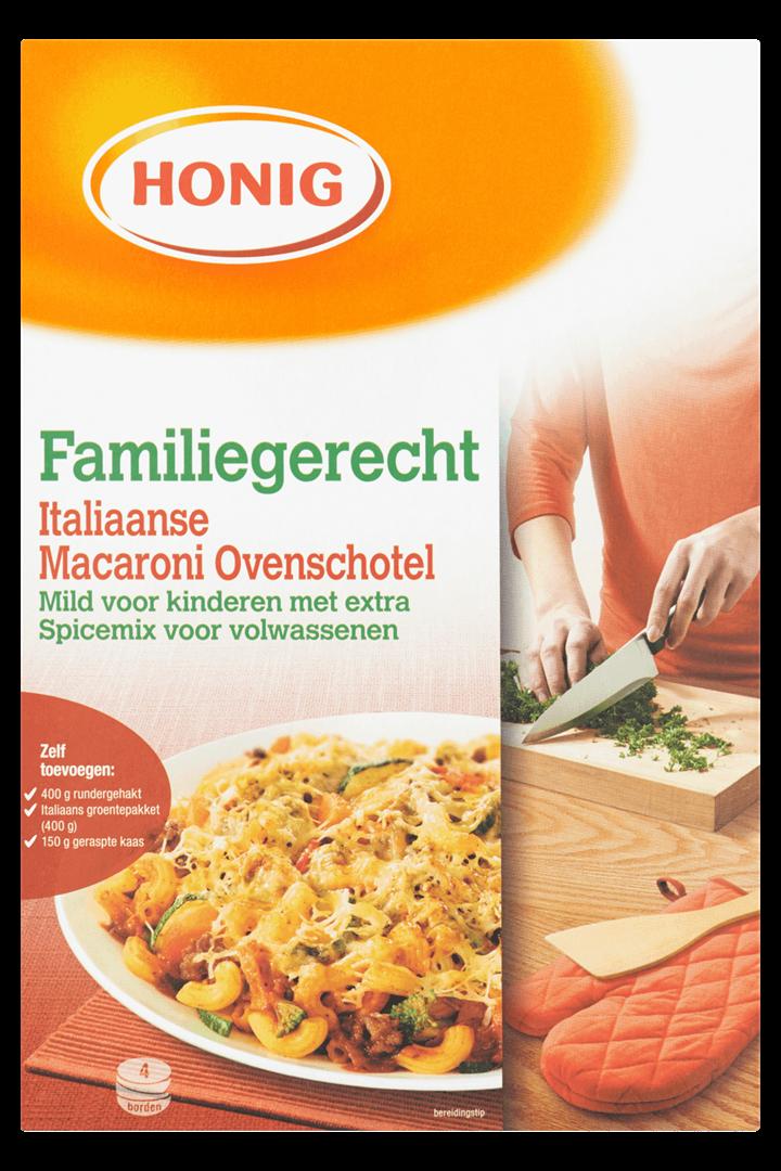 Productafbeelding Honig Maaltijdpakket Italiaanse Macaroni Ovenschotel 1 st. Doos
