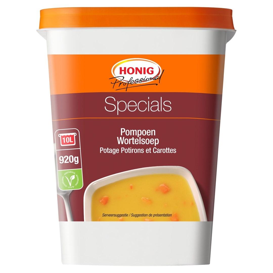 Productafbeelding Honig Professional Pompoen Wortelsoep 920 g Beker/kuipje