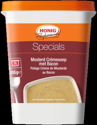 Productafbeelding Honig Professional Mosterd Crèmesoep met Bacon Specials 855 g Beker/kuipje