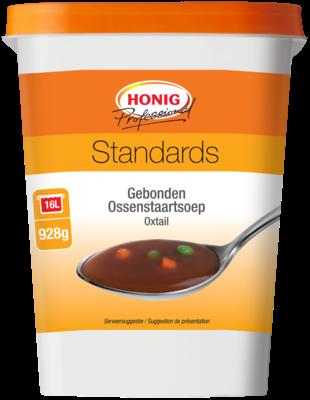 Productafbeelding Honig Professional Gebonden Ossenstaartsoep Standards 928 g Beker/kuipje