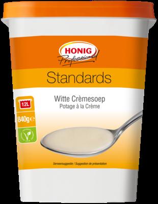 Productafbeelding Honig Professional Witte Crèmesoep Standards 840 g Beker/kuipje