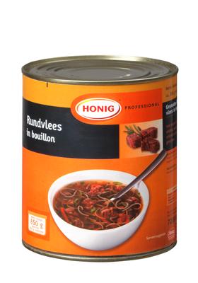 Productafbeelding Honig Professional Rundvlees in Bouillon 850 g Blik