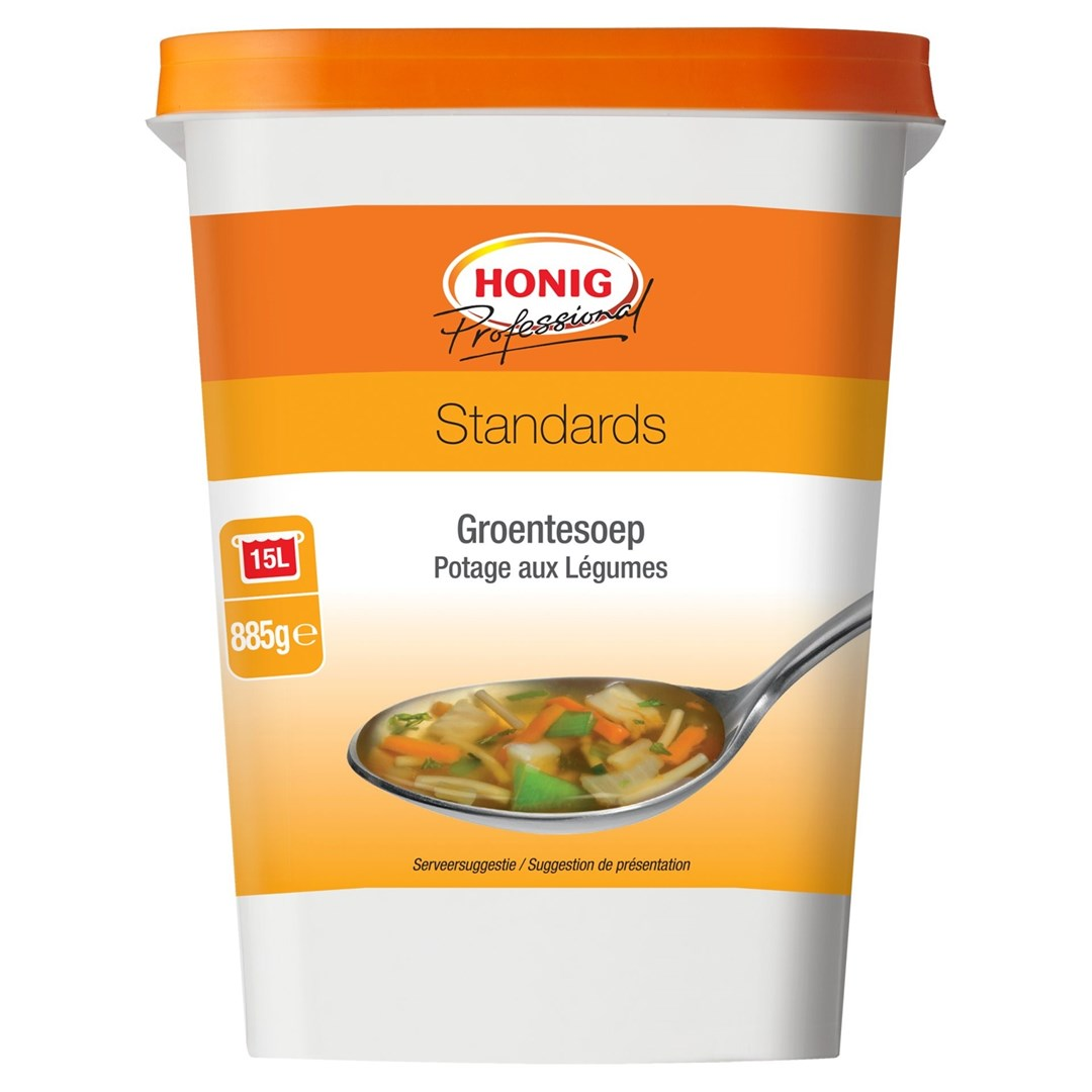 Productafbeelding Honig Professional Groentensoep 885 g Beker/kuipje