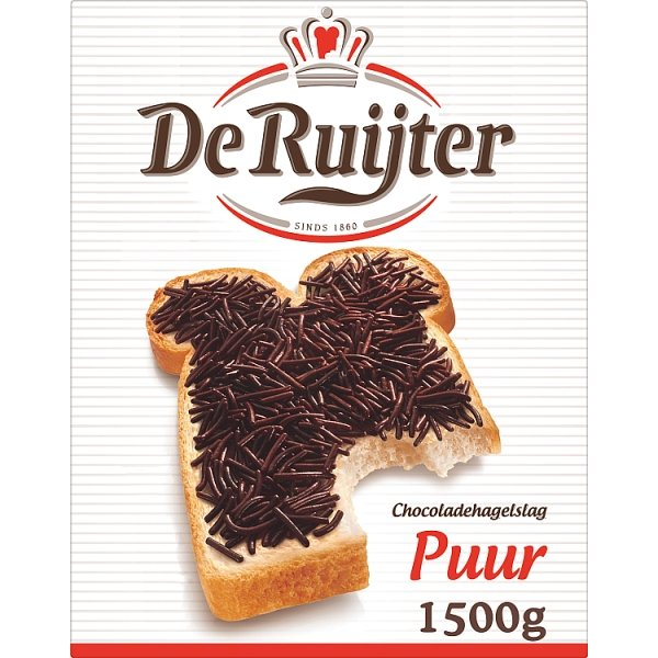 Productafbeelding De Ruijter Chocoladehagel Puur