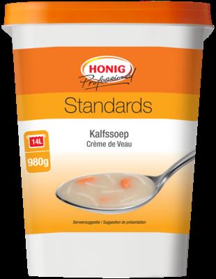 Productafbeelding Honig Professional Kalfssoep 980 g Beker/kuipje