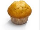 Productafbeelding Muffin natuur 75G Tulip 36st.