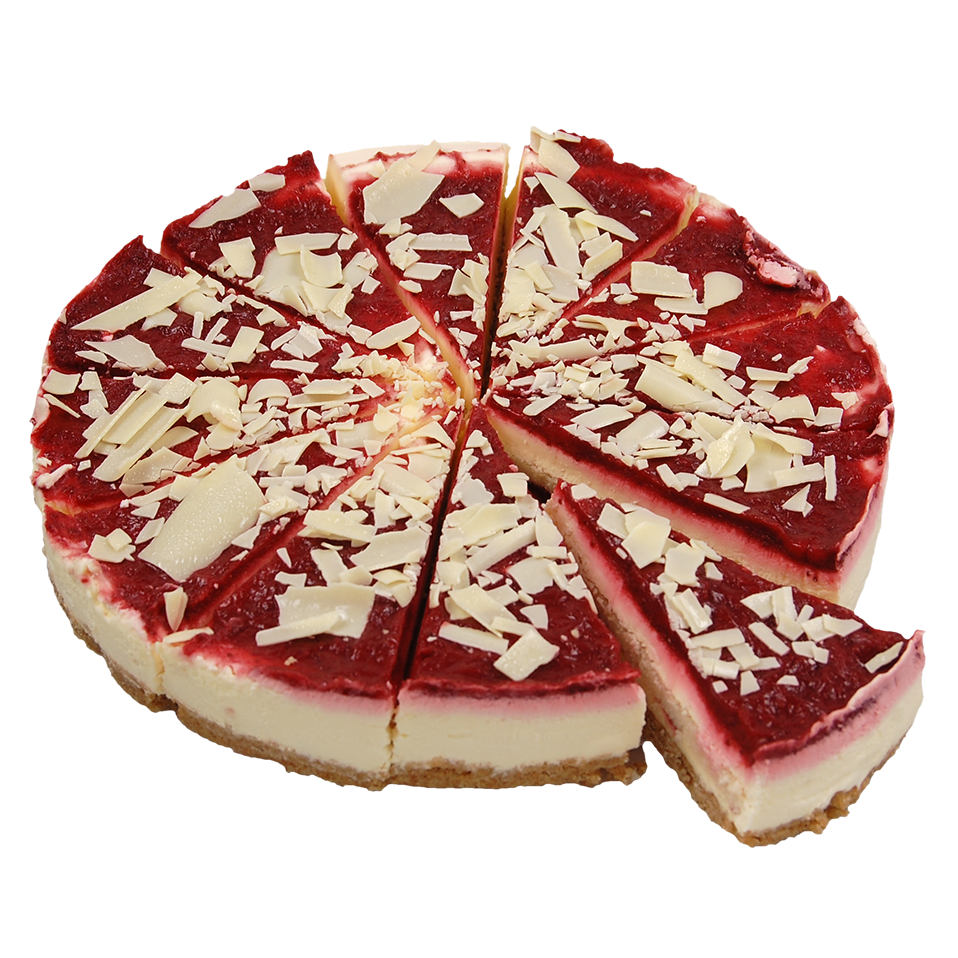 Productafbeelding Strawberry & White Chocolate Cheesecake 12 punten