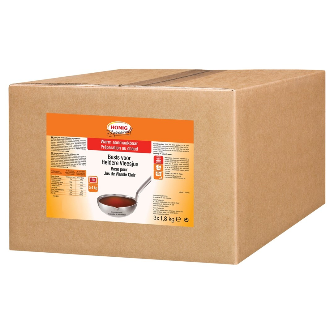 Productafbeelding Honig Professional Basis Heldere Vleesjus