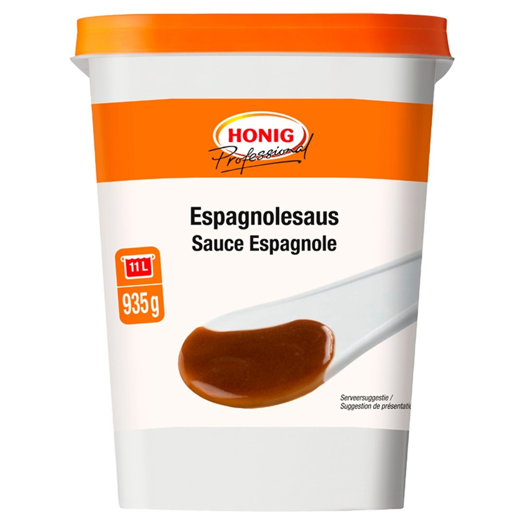 Productafbeelding Honig Professional Espagnolesaus 935 g Beker/kuipje