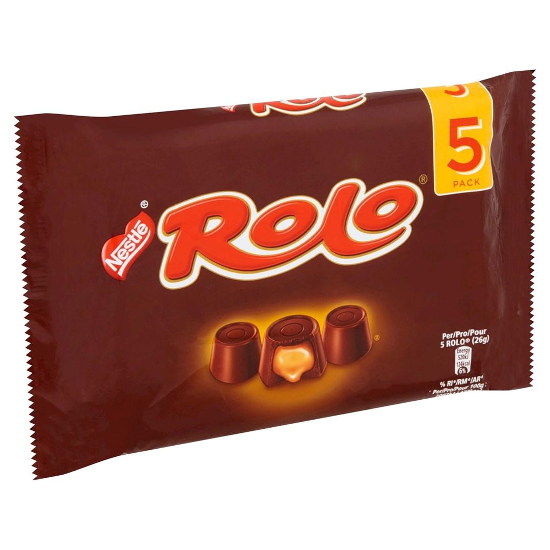 Productafbeelding NESTLE ROLO Chocolade 260 Gram Wikkel