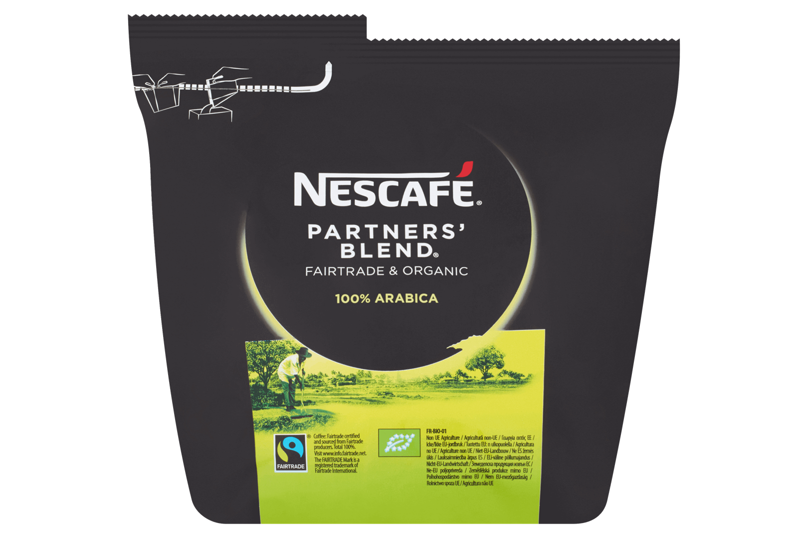 Productafbeelding NESCAFE PARTNERS BLEND Instant Koffie 250 Gram Zak