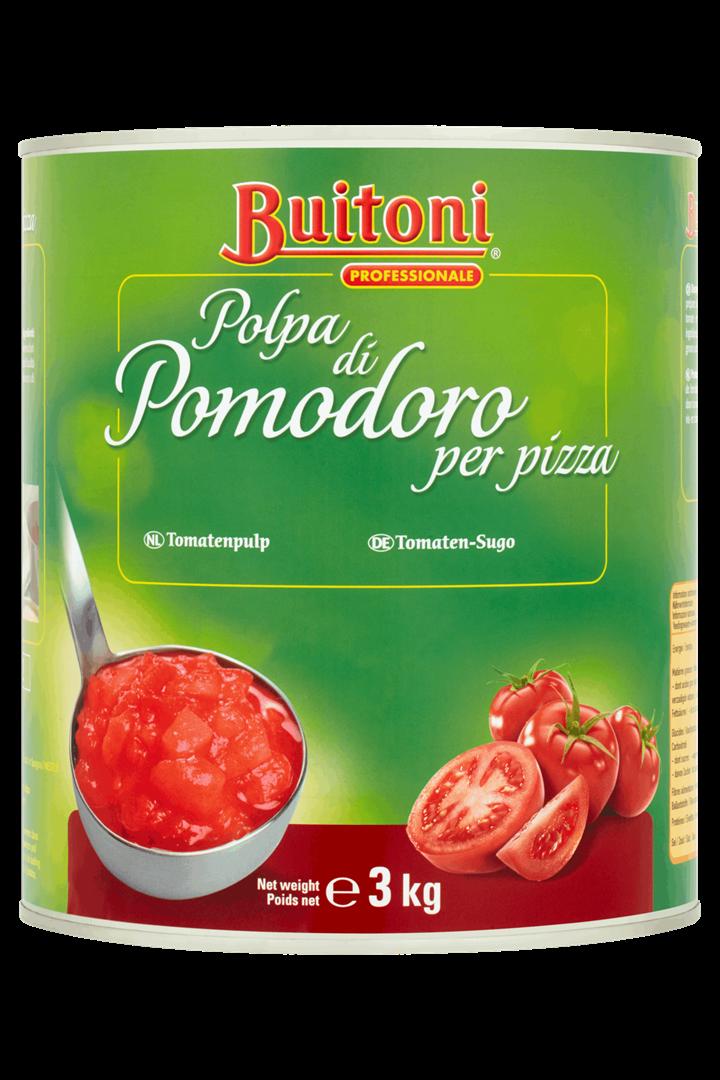 Productafbeelding BUITONI Saus Tomaten 3 Kilogram Blik