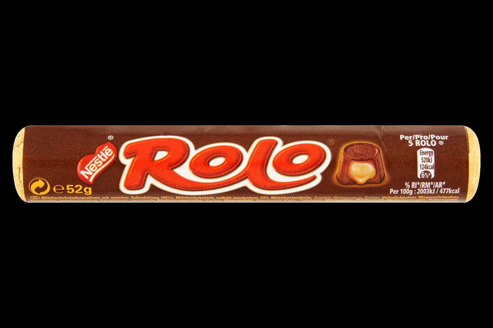 Productafbeelding NESTLE ROLO Chocolade 52 Gram Wikkel