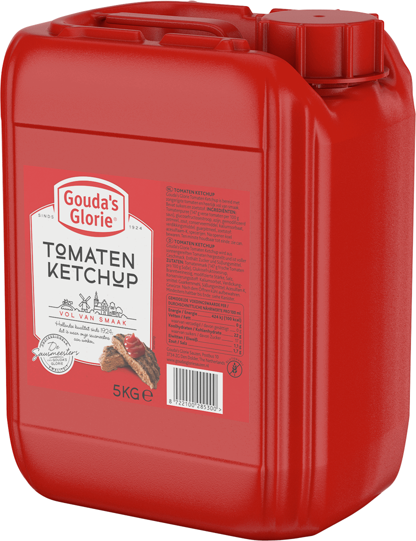 Productafbeelding Gouda's Glorie Tomaten Ketchup   Can 5 KG