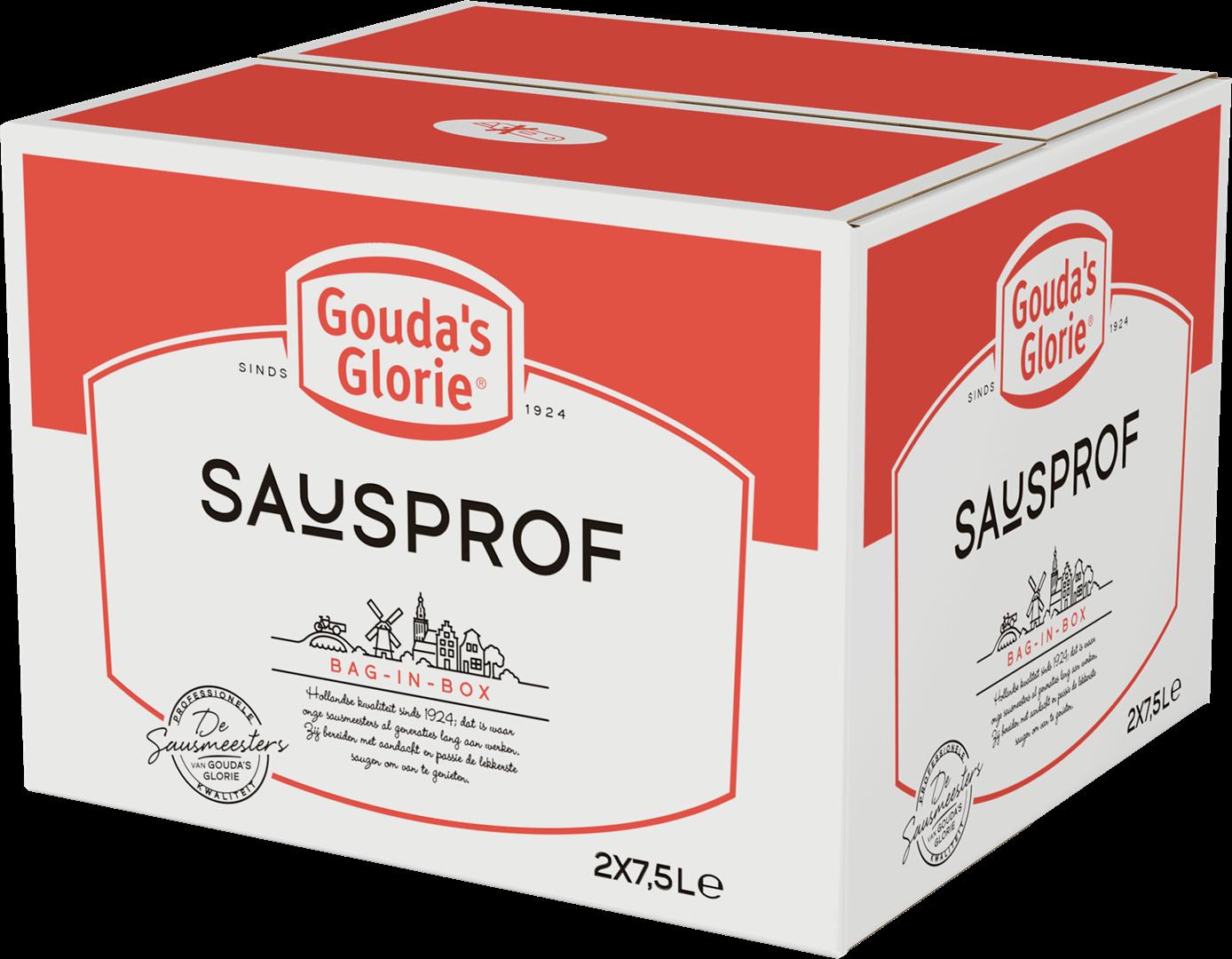 Productafbeelding Gouda's Glorie Fritessaus blauw 25%   Bag-in-Box 2 x 7,5 L