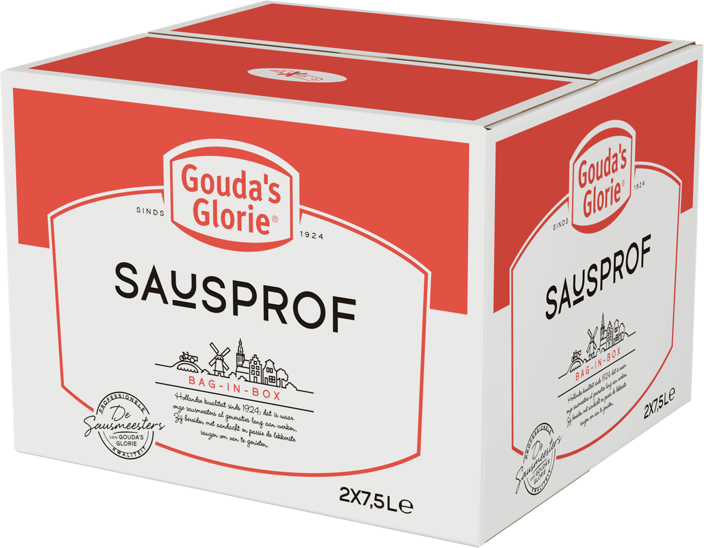 Productafbeelding Gouda's Glorie Fritessaus original 25%   Bag-in-Box 2 x 7,5 L