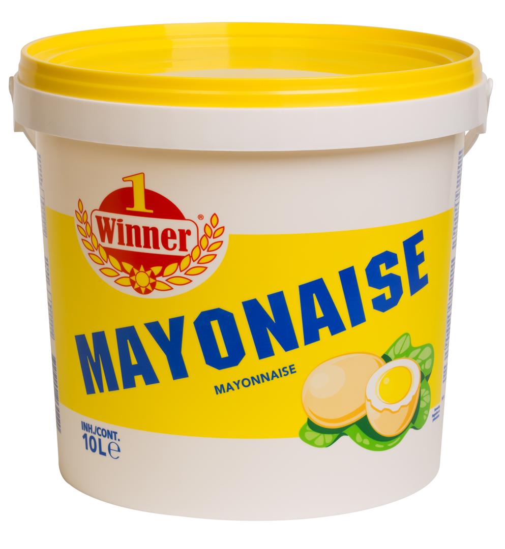 Productafbeelding Winner sauzen Mayonaise Winner 70% | Emmer 10 L