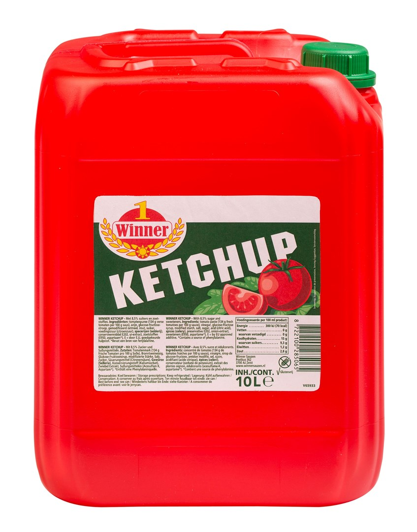 Productafbeelding Winner sauzen Winner Tomaten Ketchup   Can 10 KG
