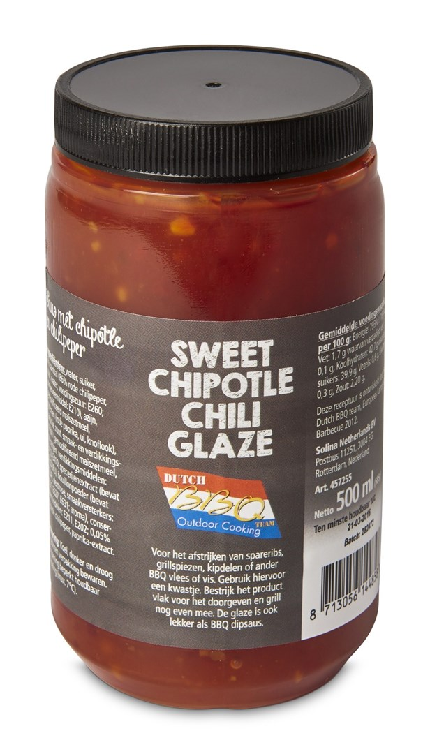 Productafbeelding Sweet chipotle chilli glaze 500 ml