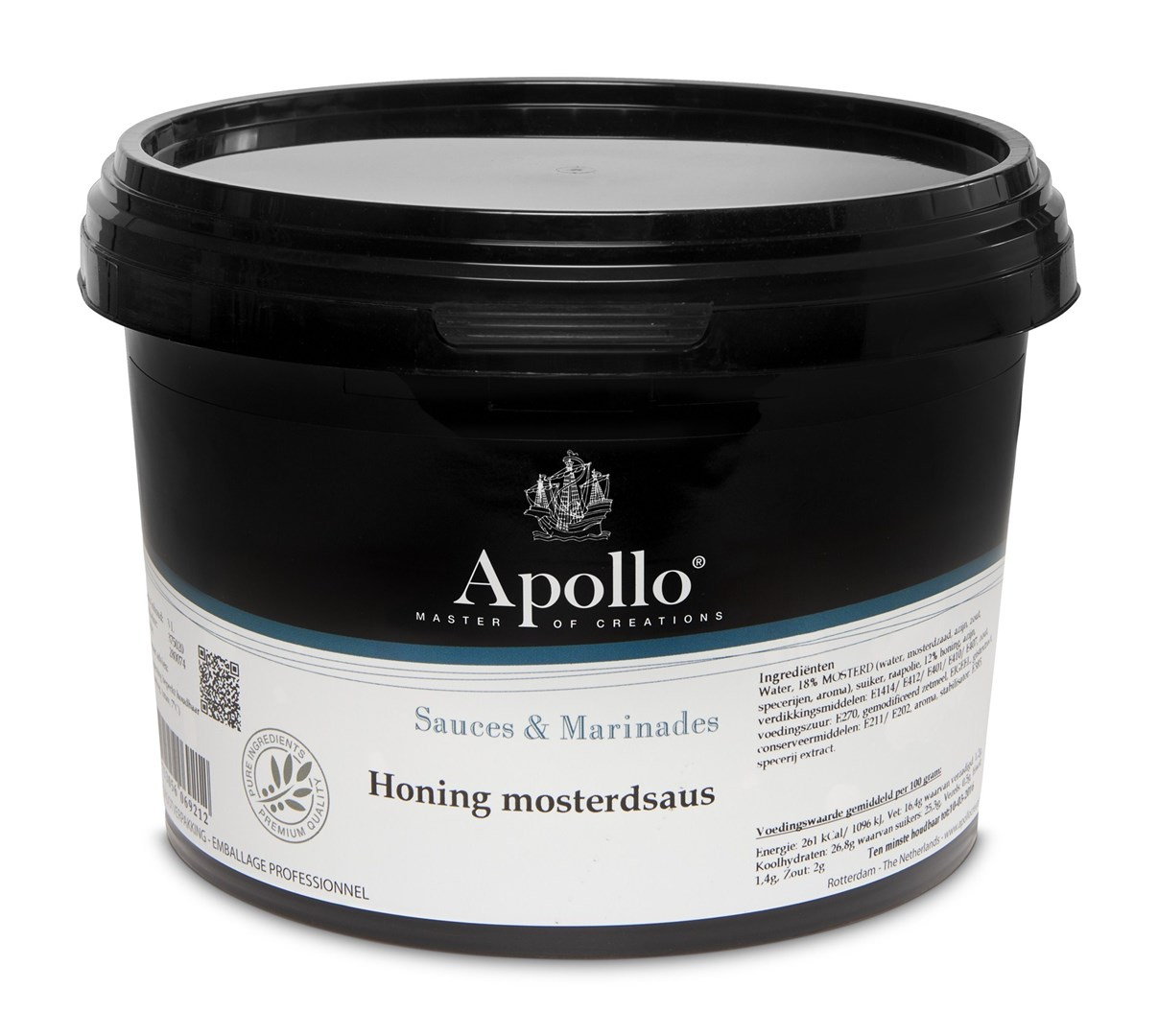 Productafbeelding Honing mosterdsaus a 2,5 kg