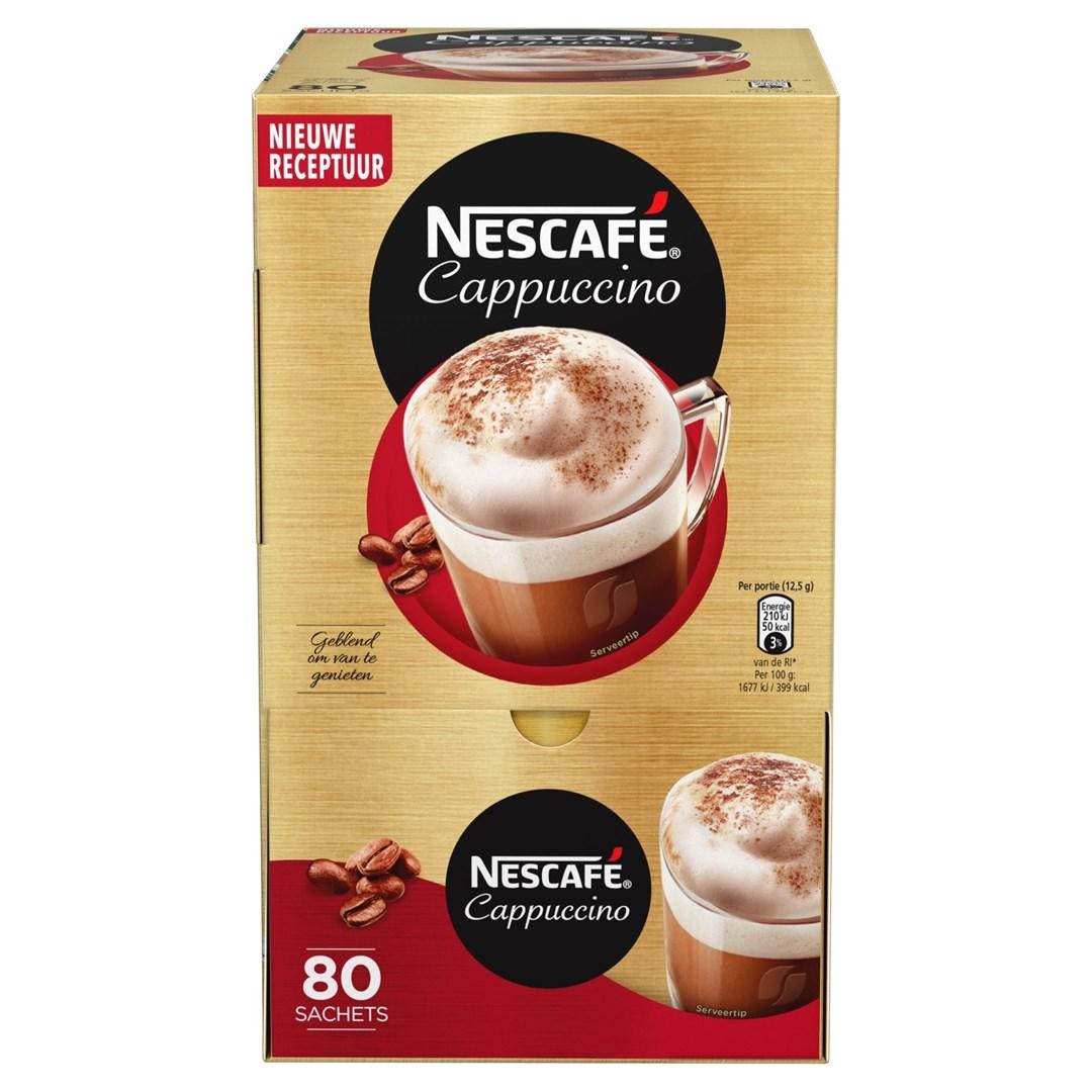 Productafbeelding NESCAFE CAPPUCCINO Instant Koffie 1 Kilogram Doos