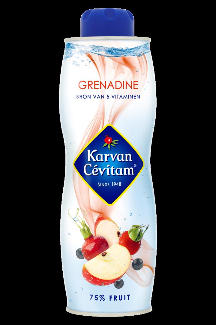 Productafbeelding Karvan Cévitam Vruchtenlimonadesiroop Grenadine 750 ml Blik