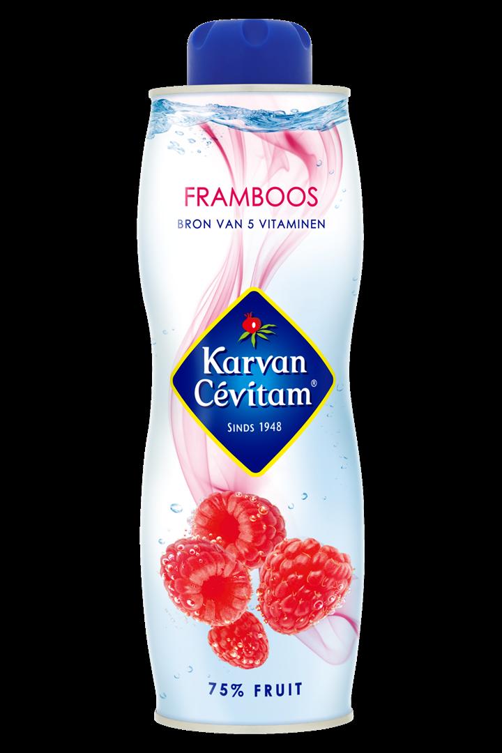 Productafbeelding Karvan Cévitam Vruchtenlimonadesiroop Framboos 750 ml Blik