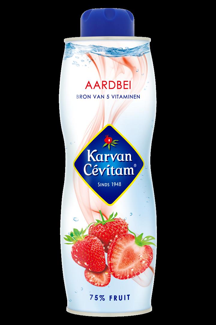 Productafbeelding Karvan Cévitam Vruchtenlimonadesiroop Aardbei 750 ml Blik