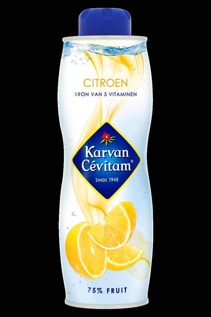 Productafbeelding Karvan Cévitam Vruchtenlimonadesiroop Citroen 750 ml Blik
