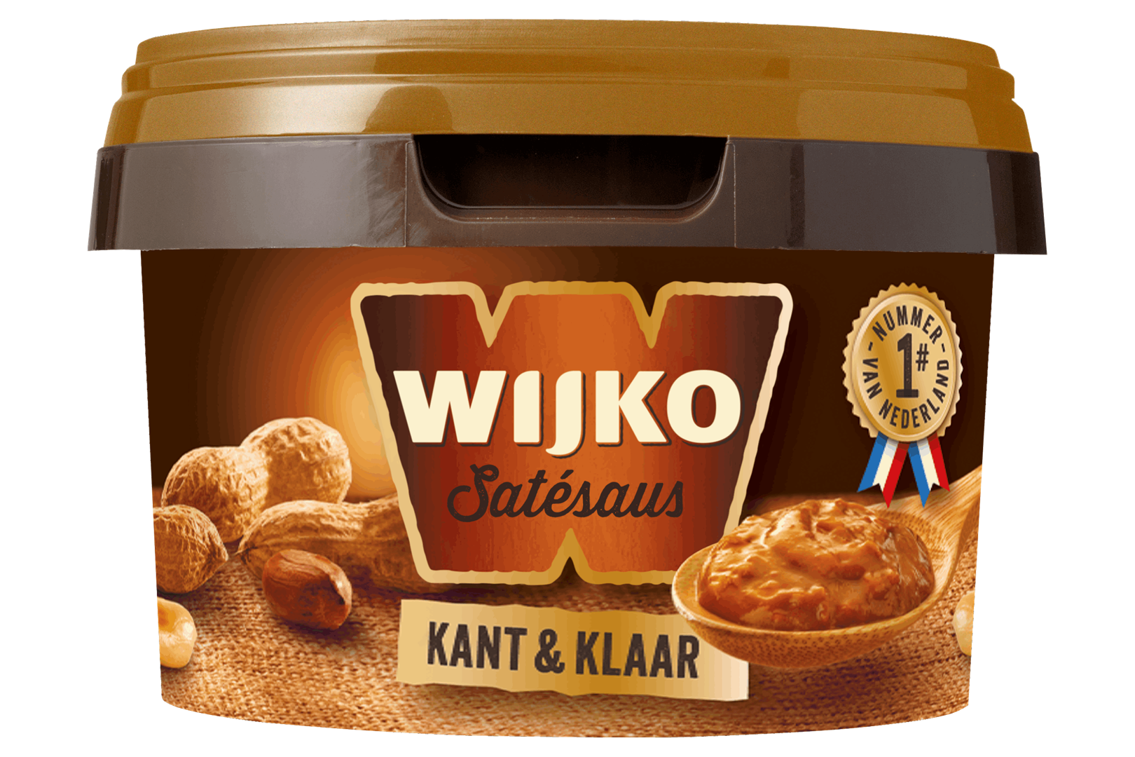 Productafbeelding Wijko Satésaus Kant en Klaar 250 g Beker/kuipje