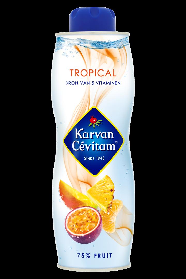 Productafbeelding Karvan Cévitam Vruchtenlimonadesiroop Tropical 750 ml Blik