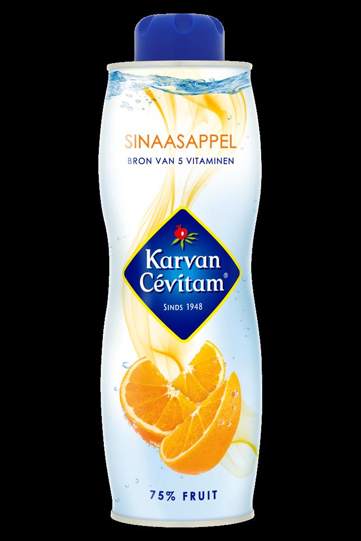 Productafbeelding Karvan Cévitam Vruchtenlimonadesiroop Sinaasappel 750 ml Blik