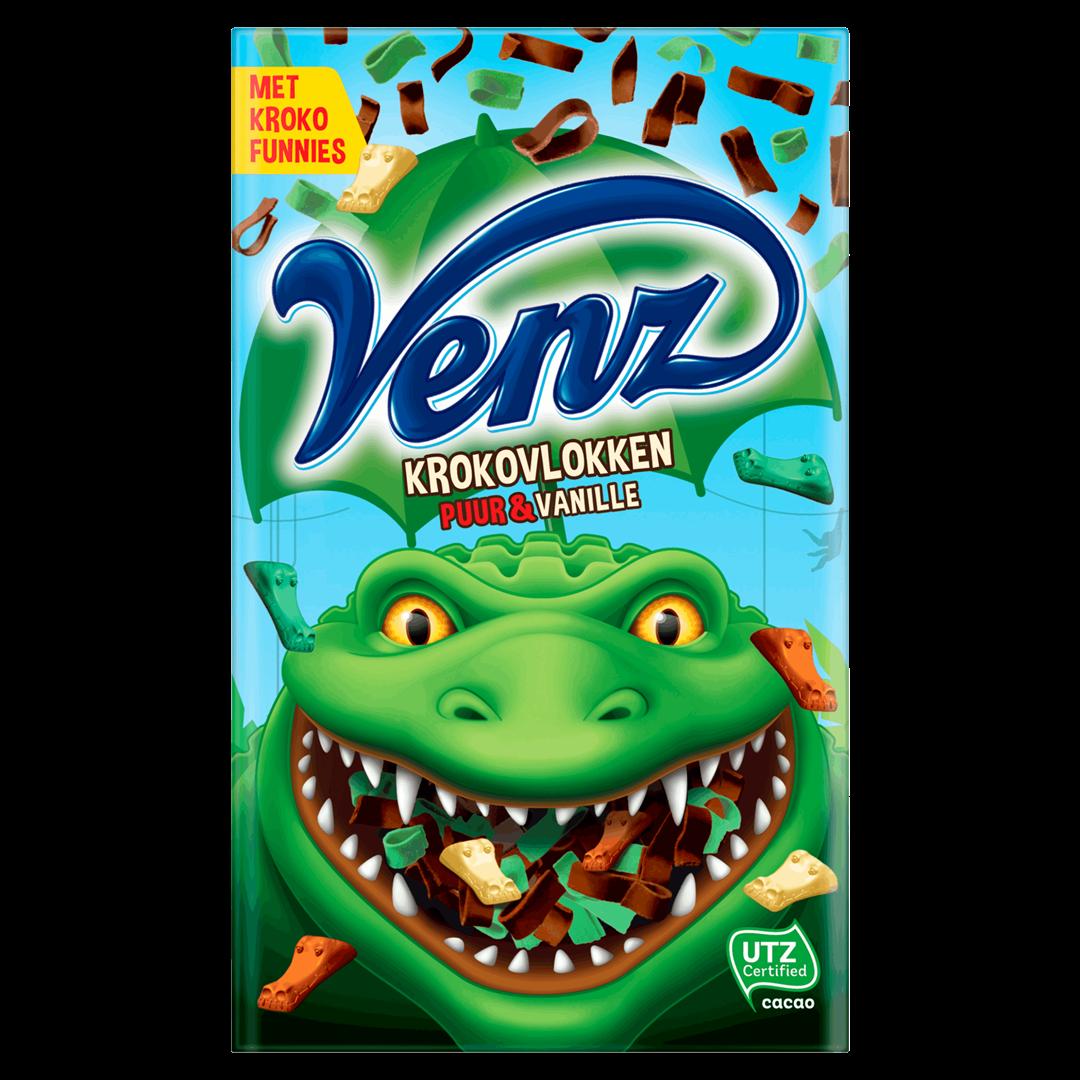 Productafbeelding Venz Mix Krokovlokken Puur & Vanille 200 g Doos