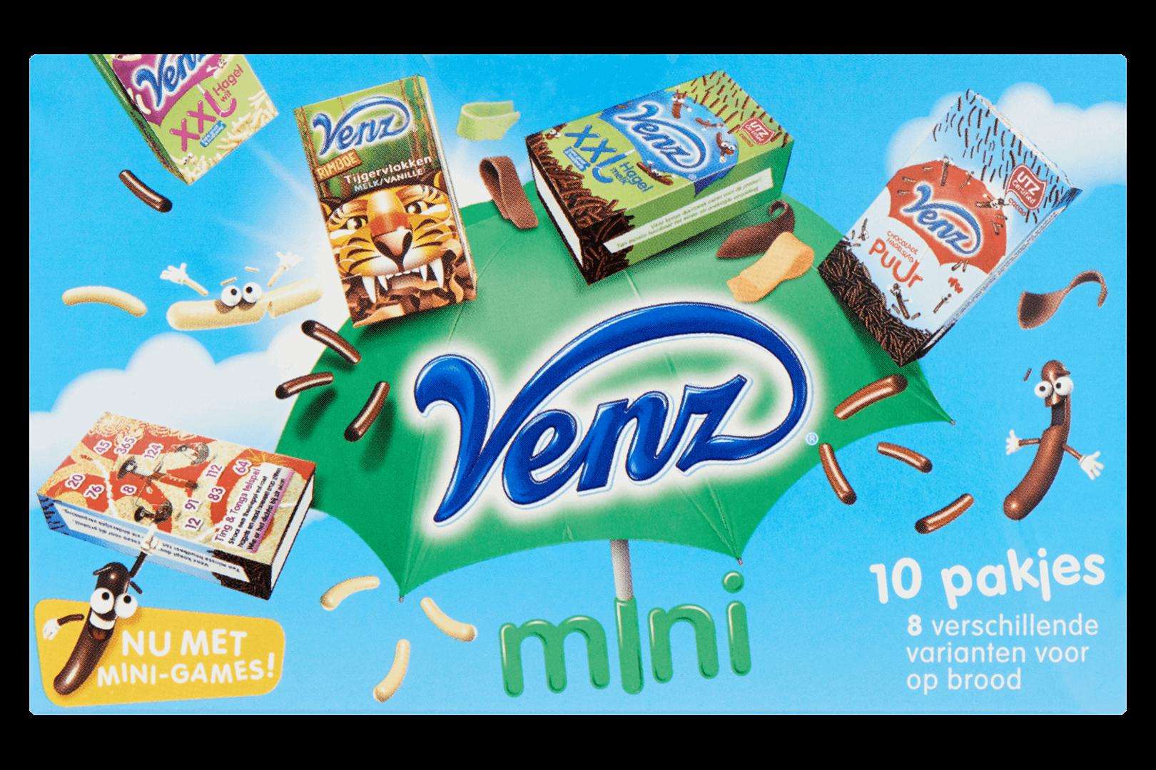 Productafbeelding Venz Varianten voor op Brood Mini 10 st. Doos