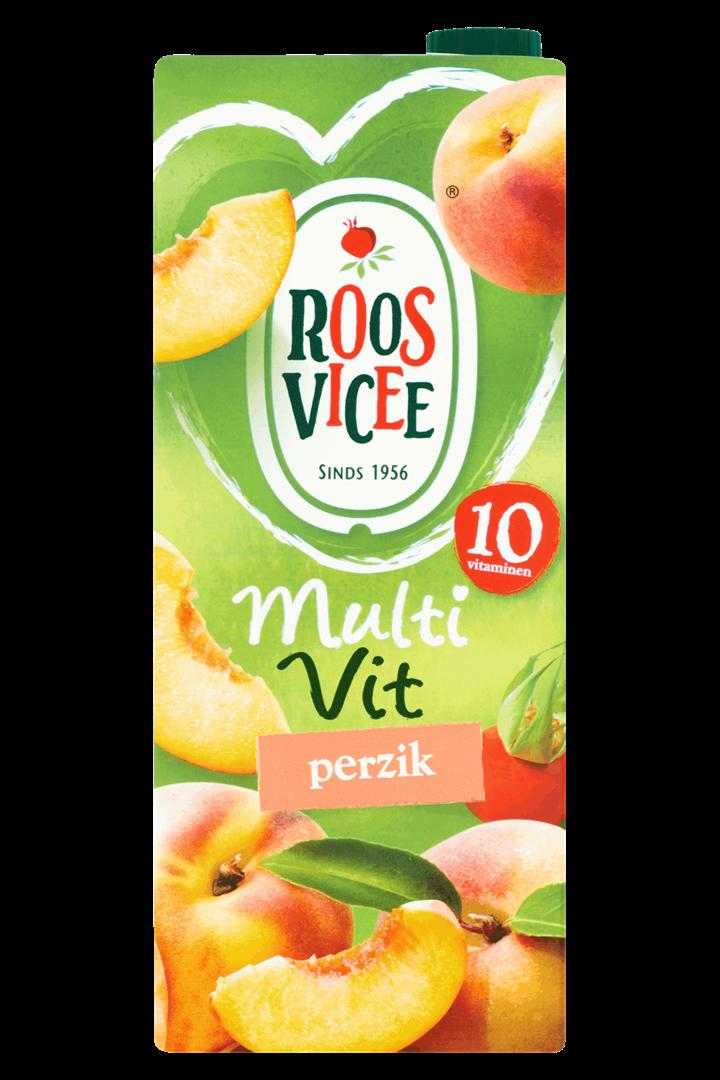 Productafbeelding Roosvicee Fruitdrink Multivit Perzik 1.5 l Pak