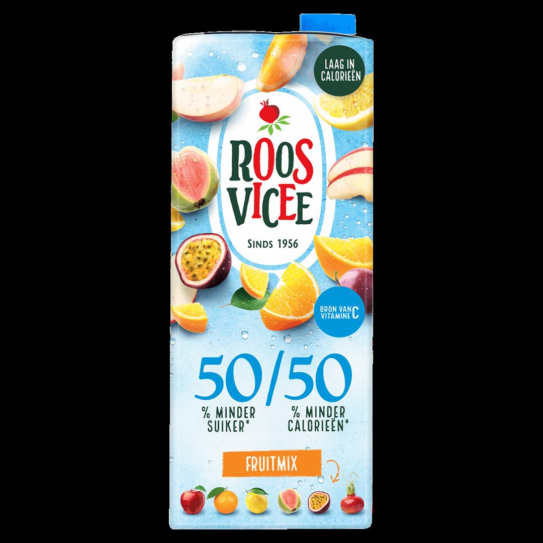 Productafbeelding Roosvicee Fruitdrink 50/50 Fruitmix 1.5 l Pak