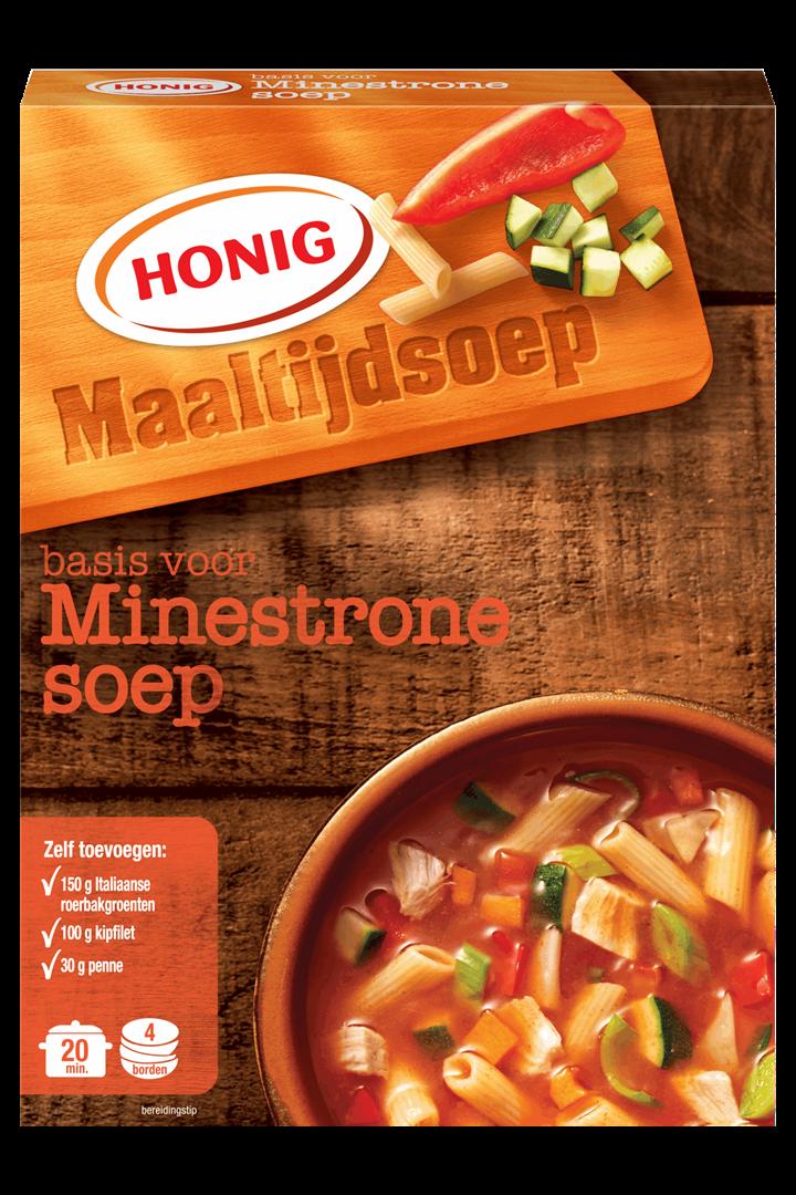 Productafbeelding Honig Soep in Droge Vorm Basis voor Minestronesoep 44 g Doos