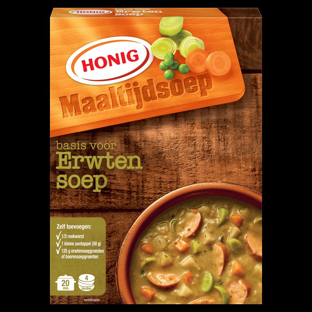 Productafbeelding Honig Soep Basis voor Erwtensoep 137 g Doos