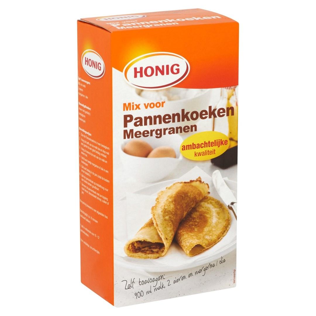 Productafbeelding Honig Mix voor Pannenkoeken Meergranen 400 g Doos