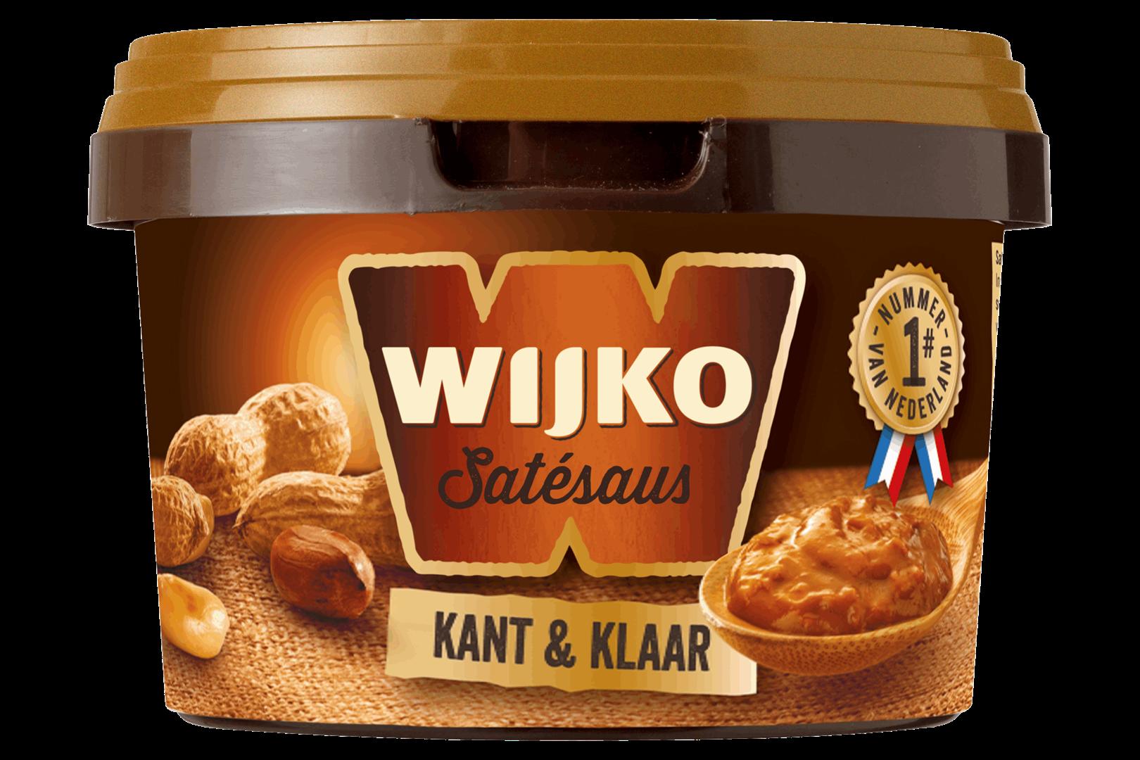 Productafbeelding Wijko Satésaus Kant & Klaar 500 g Bakje