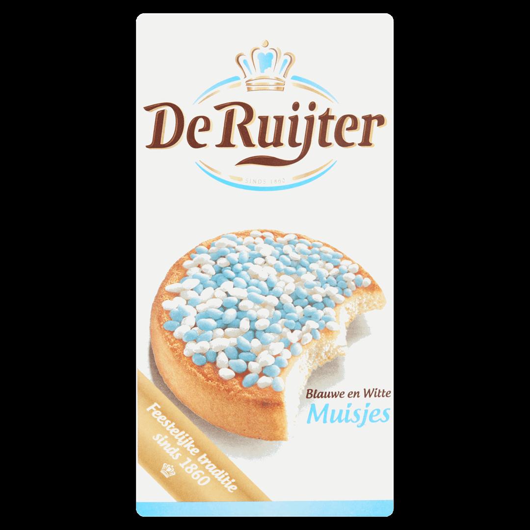 Productafbeelding De Ruijter Anijszaadjes Blauwe en Witte Muisjes 280 g Doos