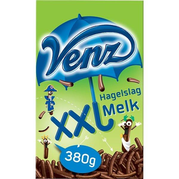 Productafbeelding Venz Hagelslag XXL Melk 380 g Doos