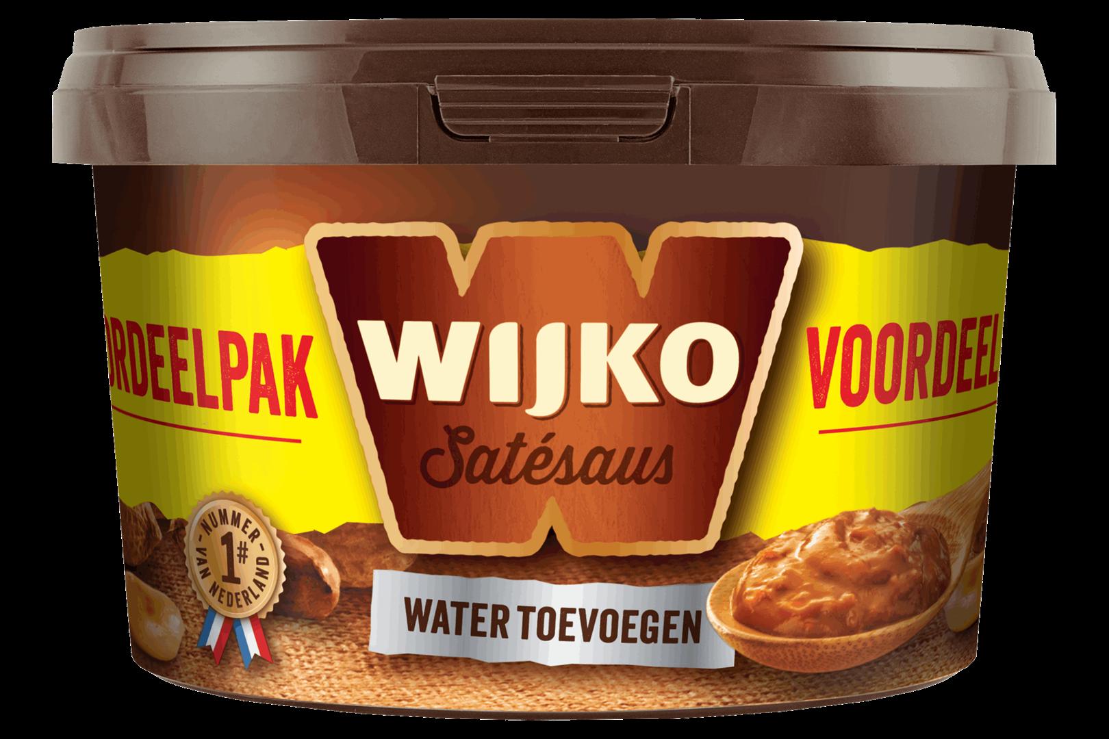 Productafbeelding Wijko Satésaus 1 kg Emmer