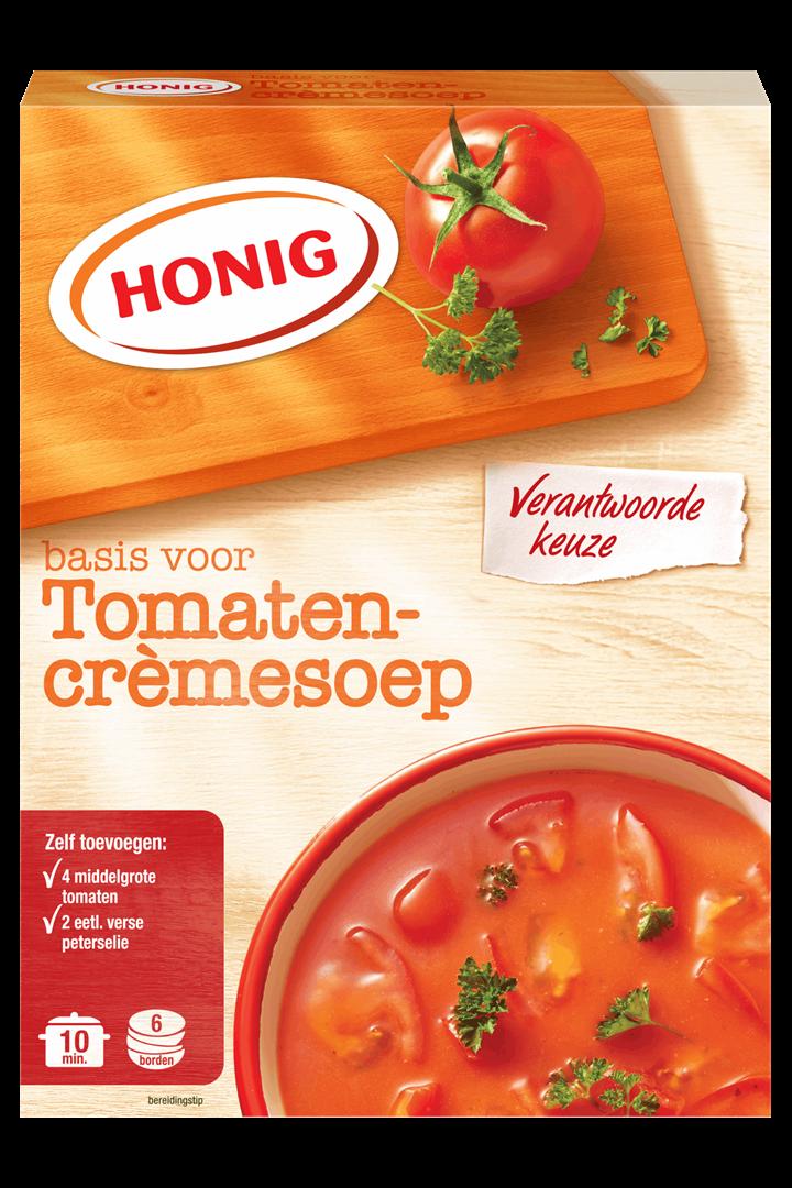 Productafbeelding Honig Soep in Droge Vorm Basis voor Tomaten-Crèmesoep 112 g Doos