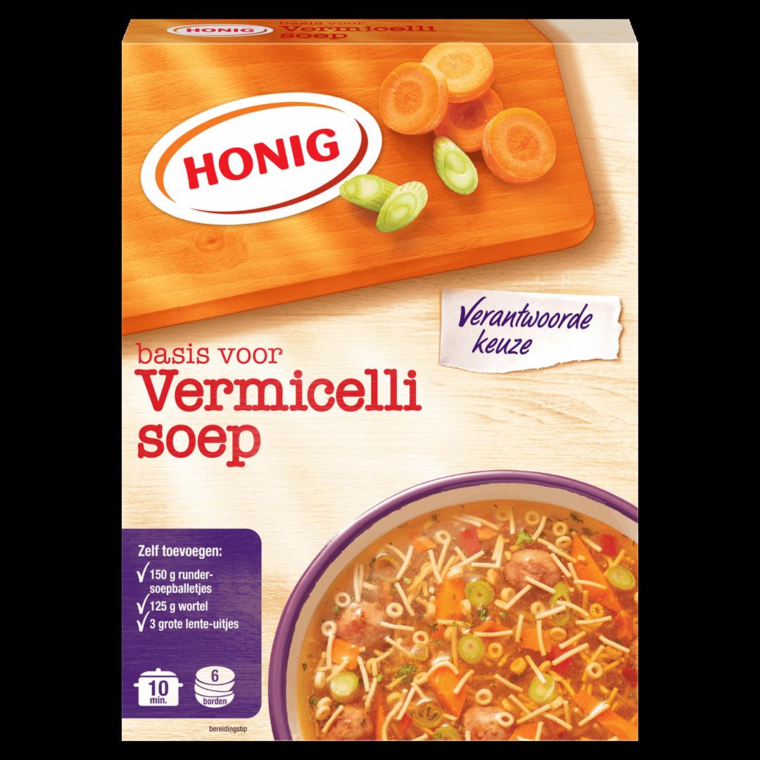 Productafbeelding Honig Soep in Droge Vorm Basis voor Vermicellisoep 96 g Doos
