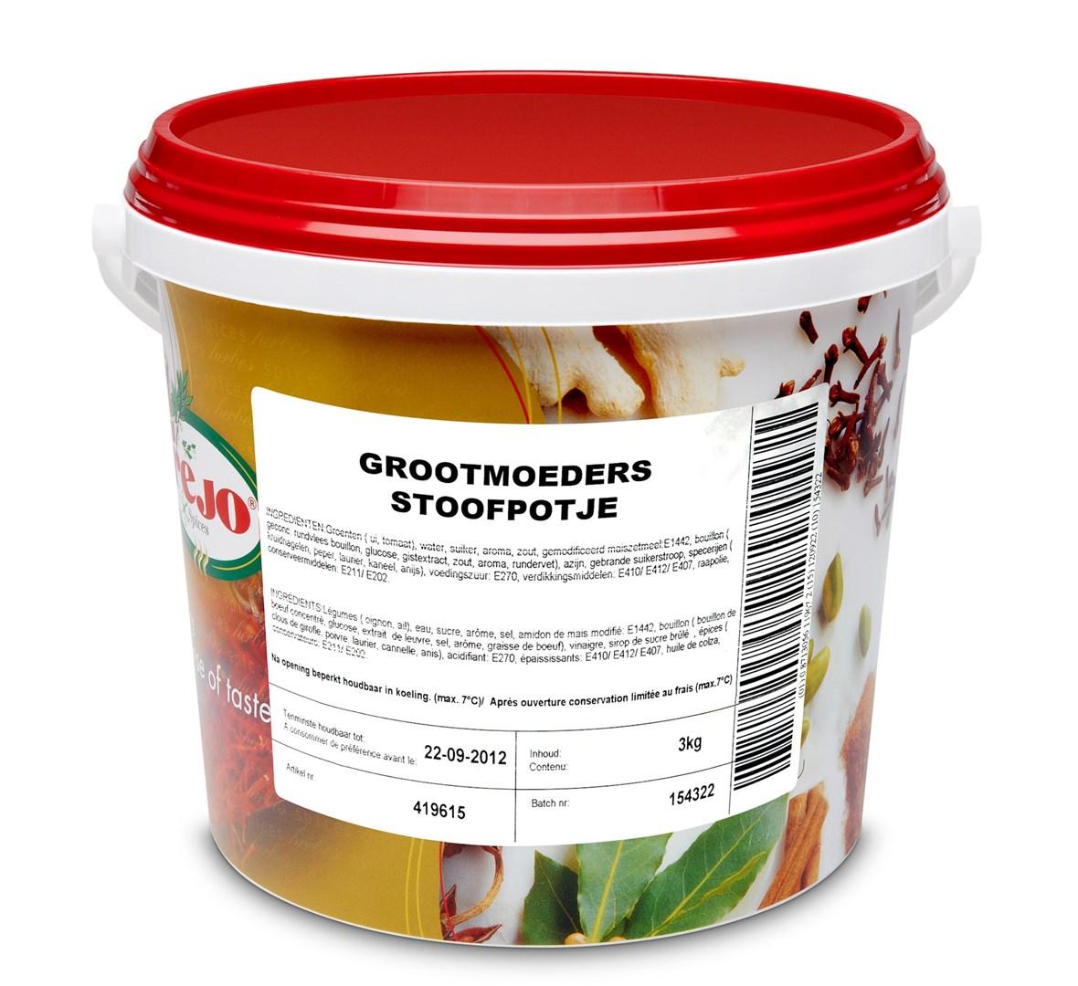 Productafbeelding Grootmoeders stoofpotje a 3kg
