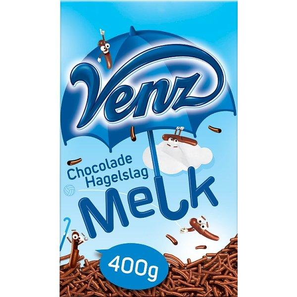 Productafbeelding Venz Chocoladehagelslag Melk 400 g Doos