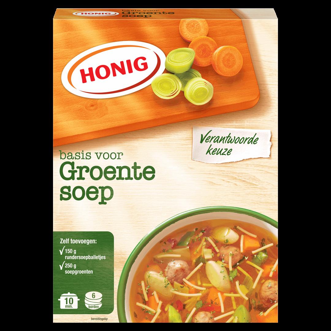 Productafbeelding Honig Soep Basis voor Groentesoep 53 g Doos