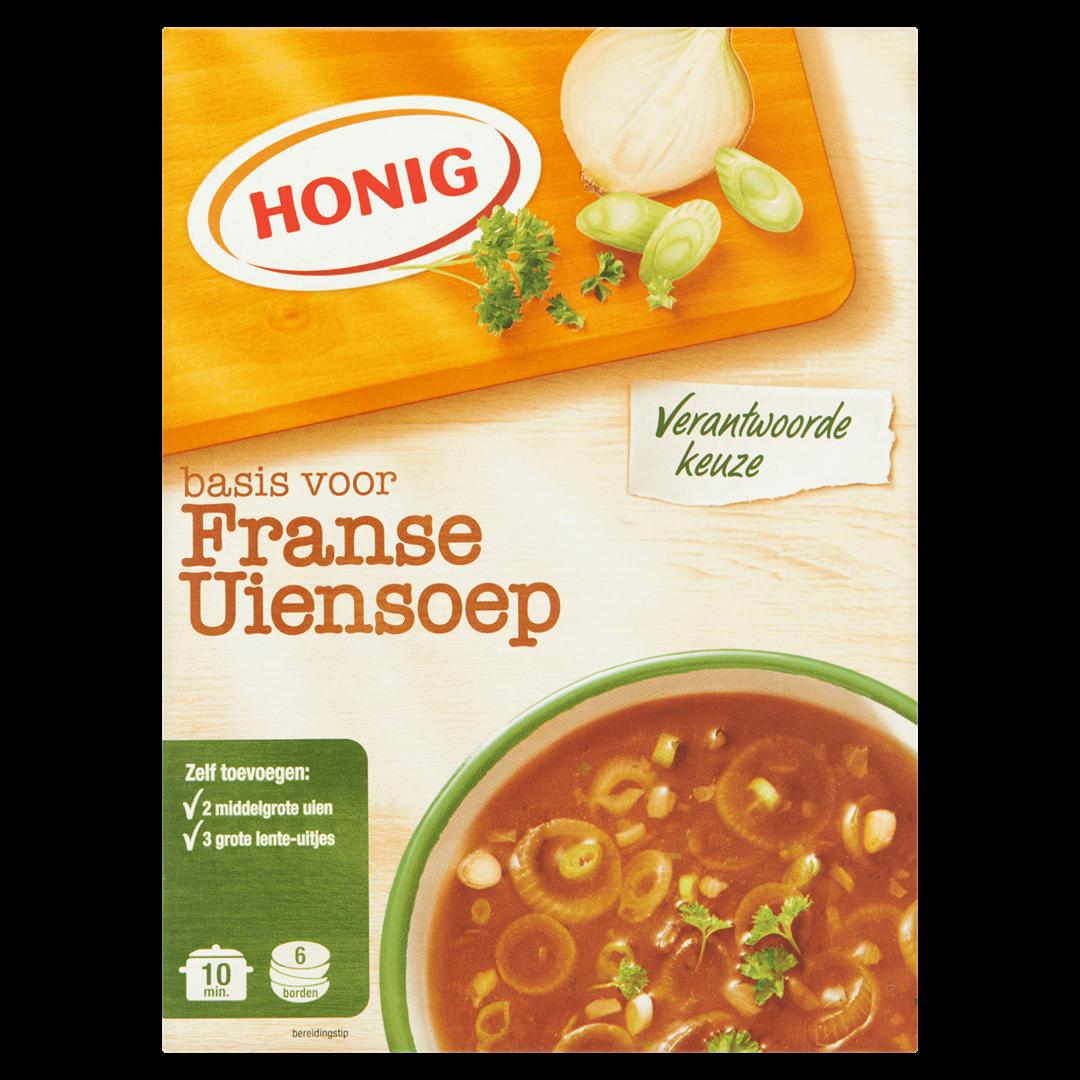 Productafbeelding Honig Soep Basis voor Franse Uiensoep 64 g Doos