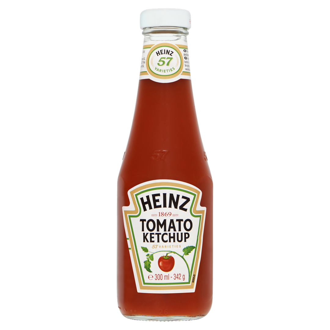 Productafbeelding Heinz Ketchup Tomato 342 g Fles